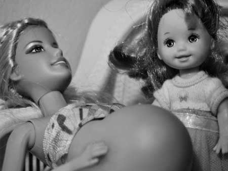 barbie accouche 2