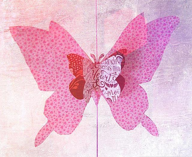 papillon par Marie Mora