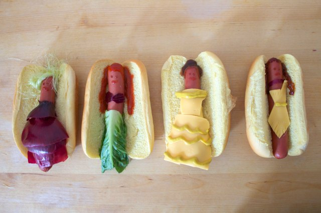 princesse hot dogs
